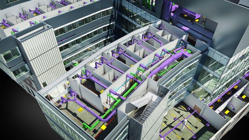 Advantages of Revit's Building Information Modeling