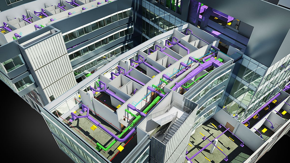 Advantages of Revit's Building Information Modeling