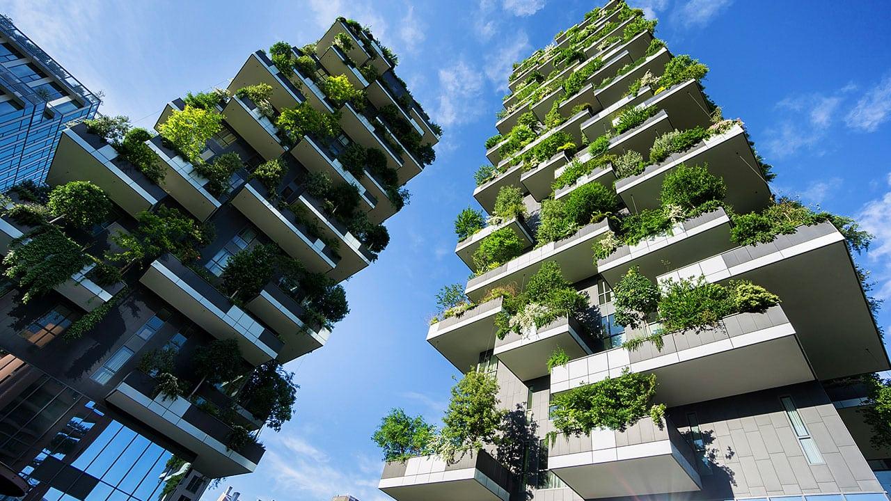 Designing Architecture Sustainable Buildings  Digital School