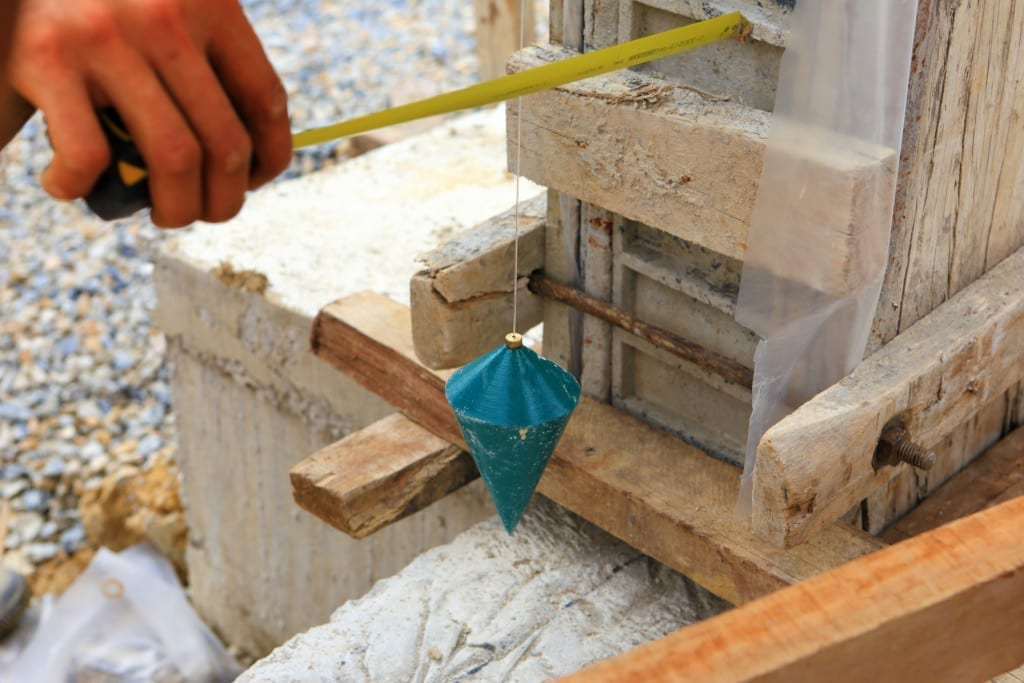 Plumb bobs are still used today to create vertical lines in construction.