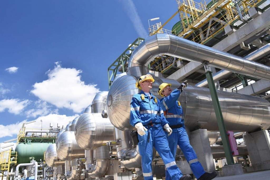 Crude oil can't be used until it is converted. Process piping makes this conversion possible.