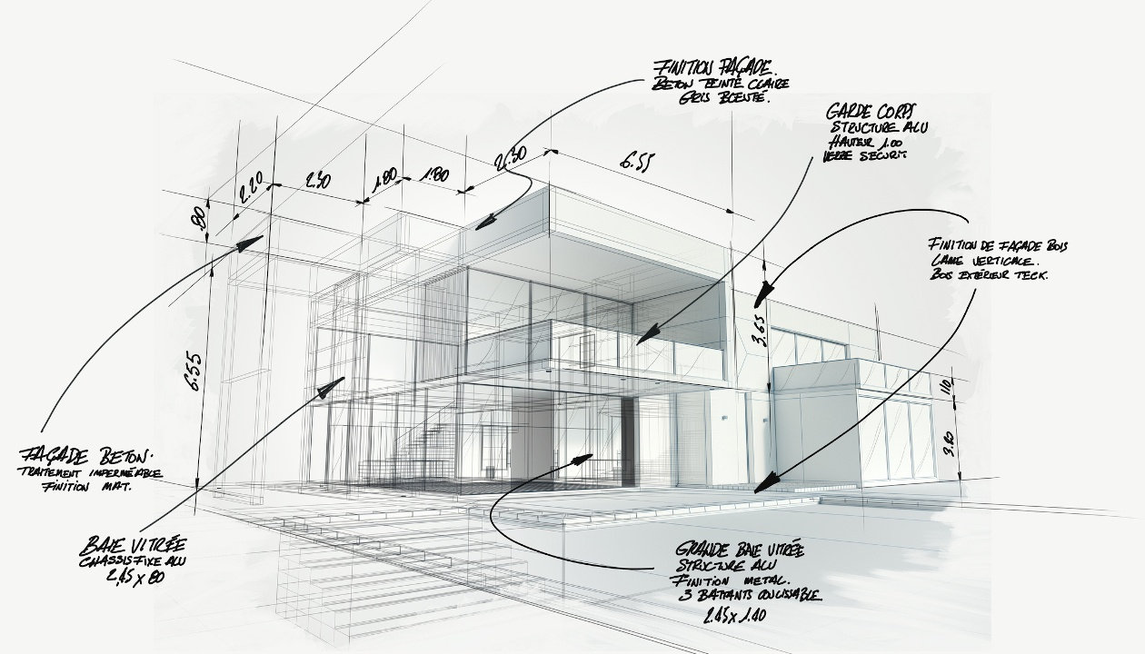 Drawing Types for Architectural Design Technology Training