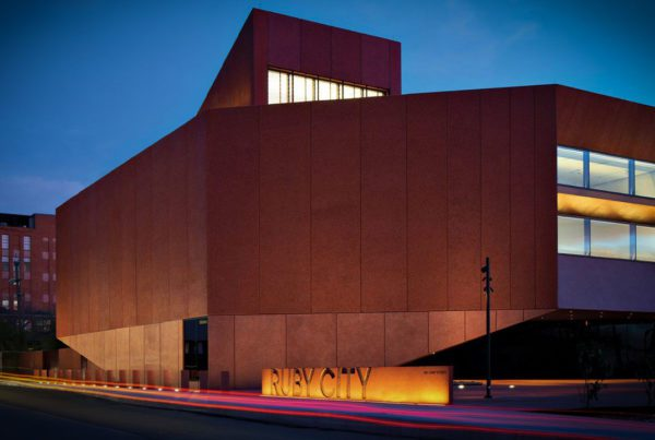 It took Adjaye and his architectural team more than 12 years to complete Ruby City