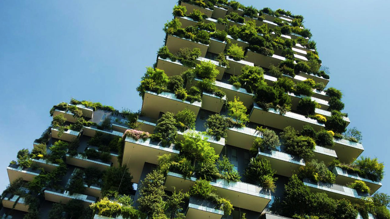 Green facades and living walls are popular architecture trends expected to continue in 2021