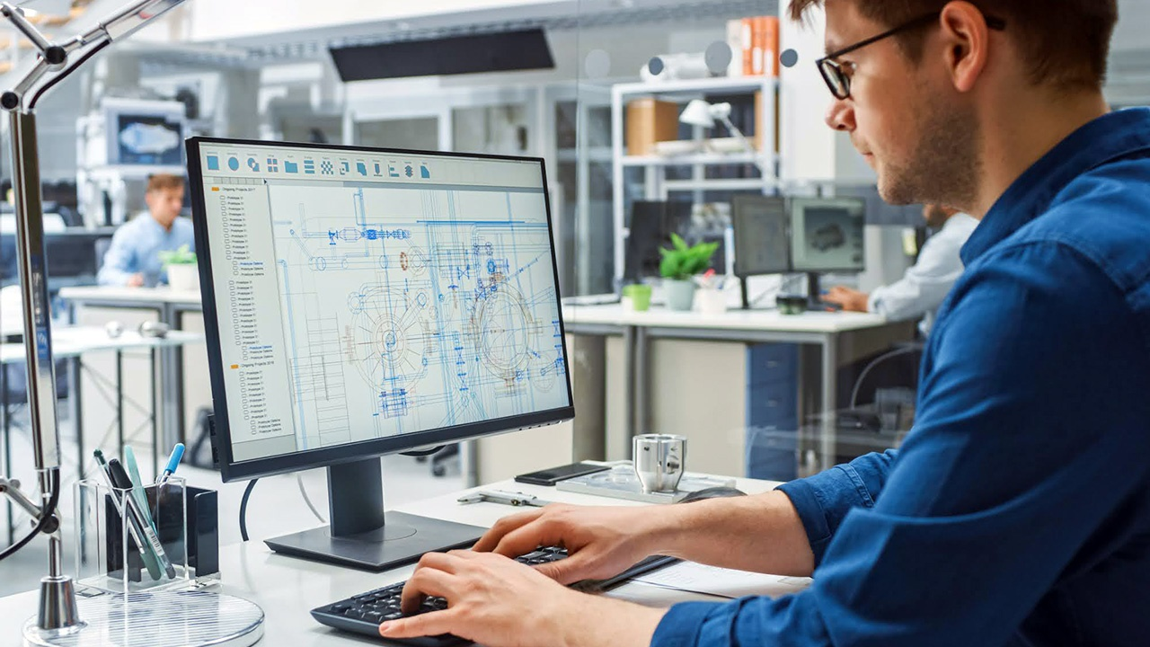 CAD training teaches users the benefits of visualizing and analyzing designs before production